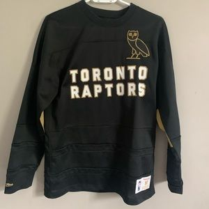 Authenticated OVO Raptors Long Sleeve Jersey